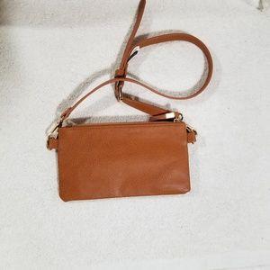 Belgo Lux Bags - Belgo Lux tan belt bag perfect for phone
